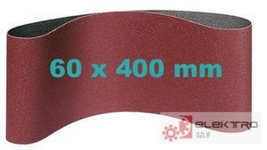 Pas ścierny bezkońcowy do elektronarzędzi 60x400mm (granul.40-120)