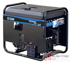 Agregat pr�dotwórczy SDMO TECHNIC 7 000 E AVR C - 8.15 kVA