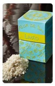 Kwiat soli z cytryną i kaparami - Flor de Sal Limao