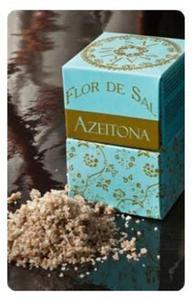 Kwiat soli z oliwkami i chili - Flor de Sal Mediterranica