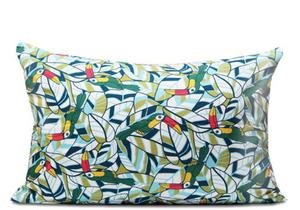 Poszewka dekoracyjna bawełniana Tukany 40x60 - 2859892218