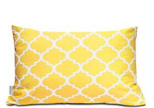 Poszewka bawełniana Maroko żółte 40x60 - 2876954355