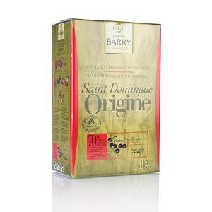 Original Santo Domingo, ciemna czekolada, callets, 70% kakao, 1kg - 2822713536