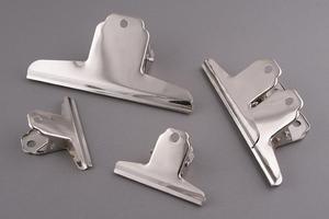 Clip metalowy chromowany 145mm - 2428998014