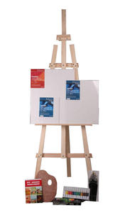 Zestaw malarski BASIC z farbami olejnymi - 2428998166