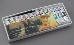 Komplet wysokiej jakości farb olejnych MARIE'S 12 x 50ml - 2428998173
