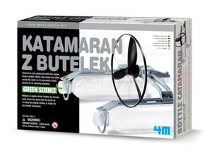 Mechanika i zabawa - KATAMARAN Z BUTELEK - 2428998236