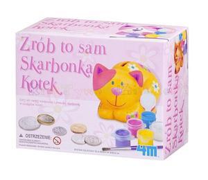 Zrób to sam - SKARBONKA KOTEK - 2428998255