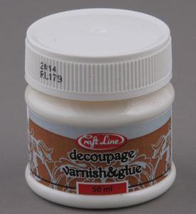 Klej i lakier do decoupage 50 ml Craft Line - 2428998349