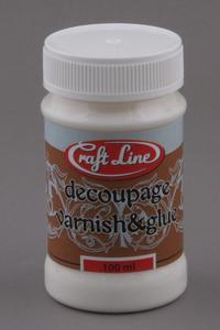 Klej i lakier do decoupage 100 ml Craft Line - 2428998350