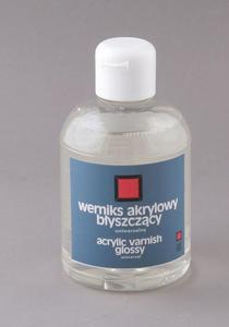 Werniks akrylowy błyszczący 300ml UNIWERSALNY - 2428998513