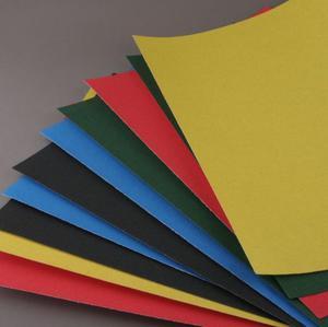 Papier ścierny 39X26cm 10 ark. 5 kolorów do pasteli olejnych - 2428998558