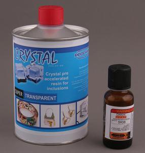 Przeźroczysta żywica polimerowa SC-22 do odlewania CRYSTAL 500g + katalizator - 2428999230