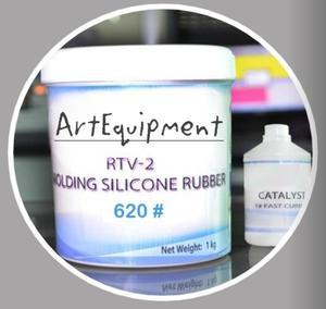 Silikon formerski dwuskładnikowy RTV620 1kg + katalizator - 2428999430