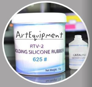 Silikon formerski dwuskładnikowy RTV625 1kg + katalizator - 2428999431