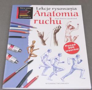 Lekcje rysowania - ANATOMIA RUCHU- ARKADY