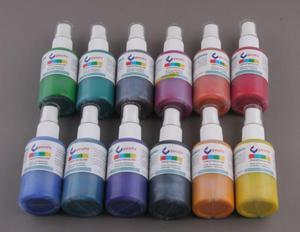 Farba do bawełny i jedwabiu TEKSTYKOLOR 50 ml ATOMIZER zielony ciemny - 2428999909