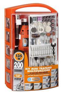 Zestaw z wiertarką 135W - 200 akcesoriów - 2428999959