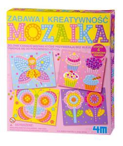 Mozaika samoprzylepna - Cztery Obrazki dla Dziewczynki - 2429000014