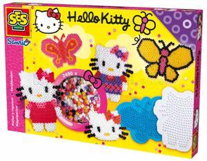 SES Beads - HELLO KITTY I KRÓLICZEK 2400 kołeczków do zaprasowania - 2429000423