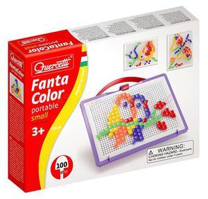 Mozaika Quercetti  FantaColor Portable kwadratowe kołeczki - 2429000517