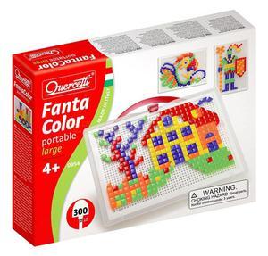 Mozaika Quercetti  FantaColor Portable Large - kwadraty i trójkąty - 2429000524