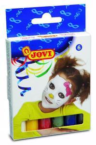 Kredki do malowania twarzy 6 kol x 17 gr - JOVI - 2429000591