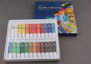 Farby akrylowe komplet 24 kolory Phoenix - 2428997737