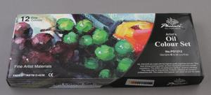 Farby olejne 12 kolorów Phoenix - 2428997738