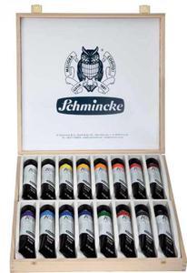 Komplet farb akrylowych SCHMINCKE AKADEMIE ACRYL 16x60ml w drewnianej kasecie - 2429001067