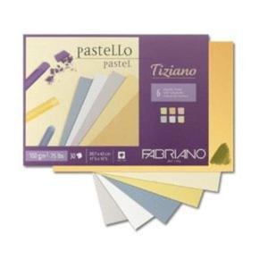 FABRIANO Blok do Pasteli TIZIANO A4 160g - 2429001367