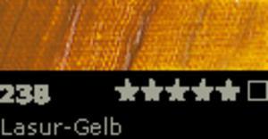 FARBA OLEJNA 35 ML SCHMINCKE MUSSINI - 238 Lasur-Gelb - 2429001454