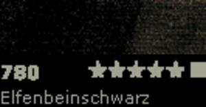 FARBA OLEJNA 150 ML SCHMINCKE MUSSINI - 780 Elfenbeinschwarz - 2429001593