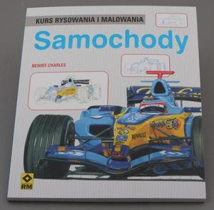 Kurs rysowania i malowania SAMOCHODY -  Benoit Charles - 2428997888