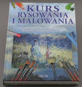 Kurs Rysowania i Malowania wprowadzenie do technik rysunku, akwareli i malarstwa olejnego  - GAIR ANGELA - 2428997893