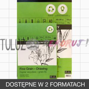 A4 Blok rysunkowy ECO FINE 120g - 2832340543