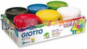 Faby do malowania palcami 6x100 ml - 2832340836