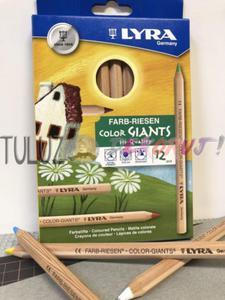 Kredki Lyra Giants Nature 12 kol - 2832341088