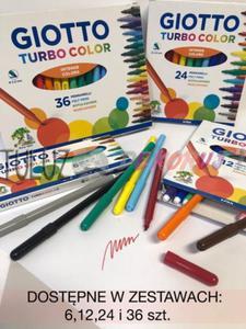 Pisaki Giotto Turbo Color 12 kol - 2832341112