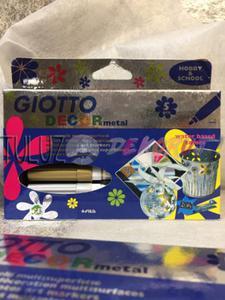 Pisaki metaliczne Giotto Decor 5 kol - 2832341145