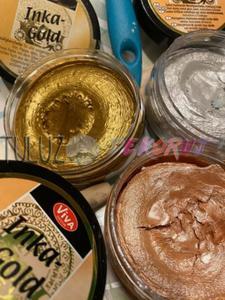 Farba (pasta-wosk) metaliczna Inka Gold Viva - 2832341724