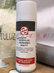 115 Werniks akrylowy matowy 400 ml - 2832337424