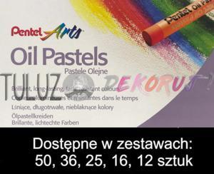 Pastele olejne Pentel 12 kol - 2832337584
