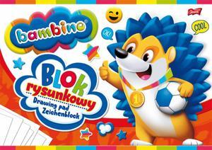 BLOK RYSUNKOWY białe kartki A4 BAMBINO (01574) - 2828081287