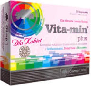 Vita-min plus dla kobiet x 30 kaps. - 2824951682