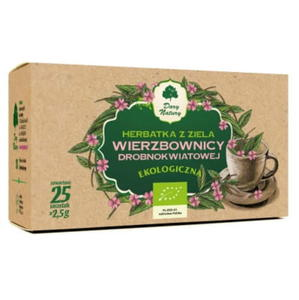 Herbatka z ziela wierzbownicy drobnokwiatowej Eko 20 sasz. - 2824951714