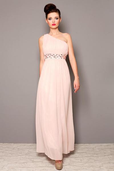 e0b69e742e 3805-1 Długa suknia tiulowa