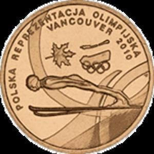 2 zł 2010 Polska Reprezentacja Olimpijska - Vancouver - 2833160229