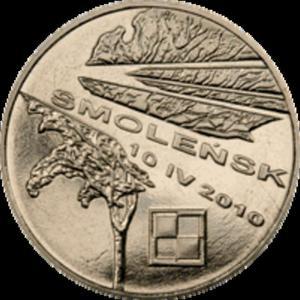 2 zł 2011 Smoleńsk - pamięci ofiar 10.04.2010 r. - 2833159967