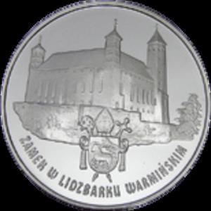 20 zł 1996 Zamek w Lidzbarku Warmińskim - 2833161493
